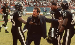 Al Pacino, Jamie Foxx and LL Cool J star in the movie Any Given Sunday.