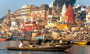 The Ganges river draws millions of Indian pilgrims and foreign tourists each year. The luxury sunset and sunrise cruise liners are due to start in September.