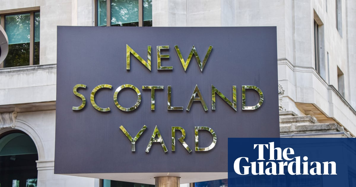 Metropolitan police officer charged with rape