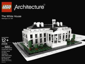 LEGO Architecture White House model