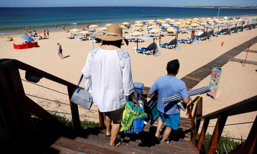Angela Merkel wants UK travellers to the EU to be quarantined and criticsed Portugal who allow in British tourists without quarantine.