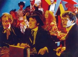 Kemp, Scott Antony and Ben Aris in the 1972 film Savage Messiah