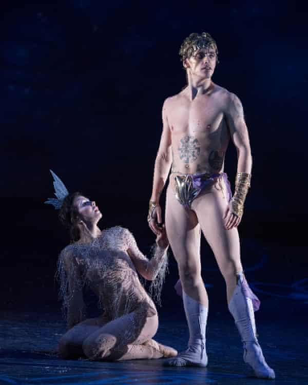 Natalia Osipova and Sergei Polunin in Narcissus and Echo.