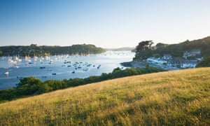 Helford River at Helford Passage. Cornwall. England. UK.