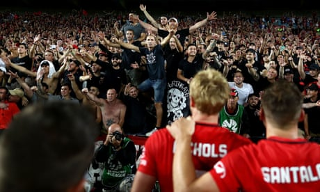 Wanderers fans hit out at FFA after club issued with show cause over banner