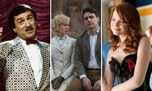 Robert De Niro in The King of Comedy, Nicole Kidman and James Franco in Queen of the Desert and Emma Stone in Easy A.