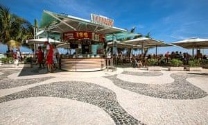 Paving by Roberto Burle Marx at Copacabana.