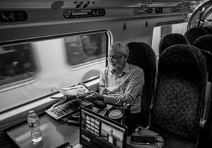 On the train back to London from Lancaster