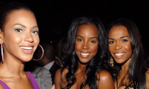 Beyoncé Knowles, Kelly Rowland and Michelle Williams of Destiny's Child.