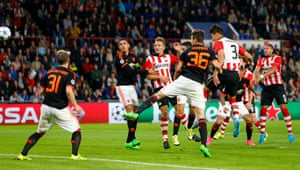 Hector Moreno heads in the equaliser.