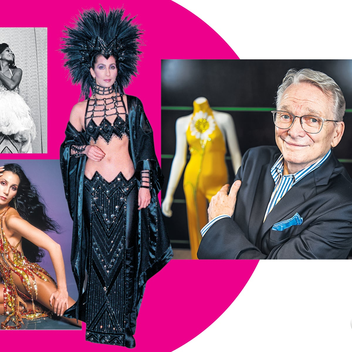 Gay Icons Like To Dress Up Bob Mackie On Cher Tina Turner And Dressing Elton John As Donald Duck Fashion The Guardian