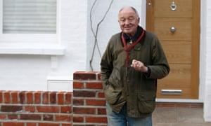 Former London Mayor Ken Livingstone leaves his home in London