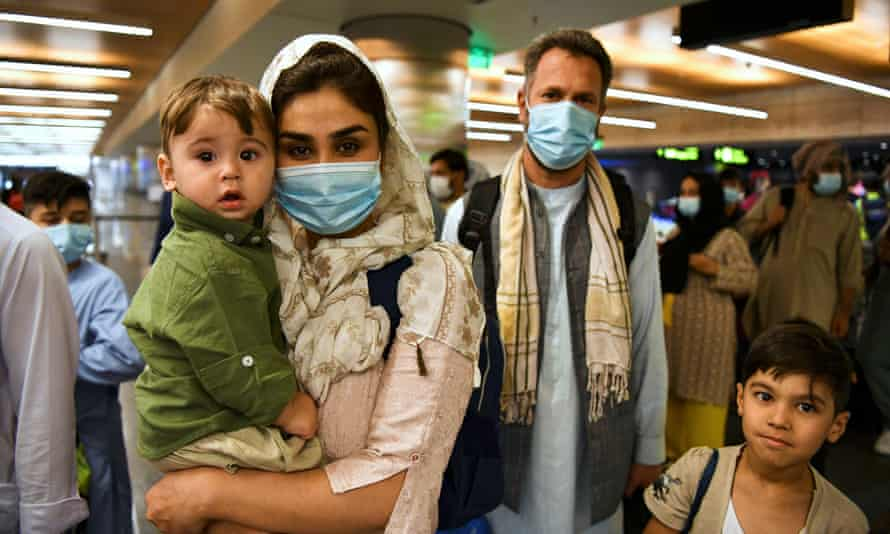 Passengers from the first civilian flight from Afghanistan since the end of the US-led evacuation arrived in Qatar late on Thursday.