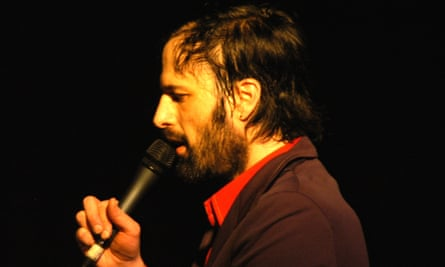David Berman performing with Silver Jews in 2006.