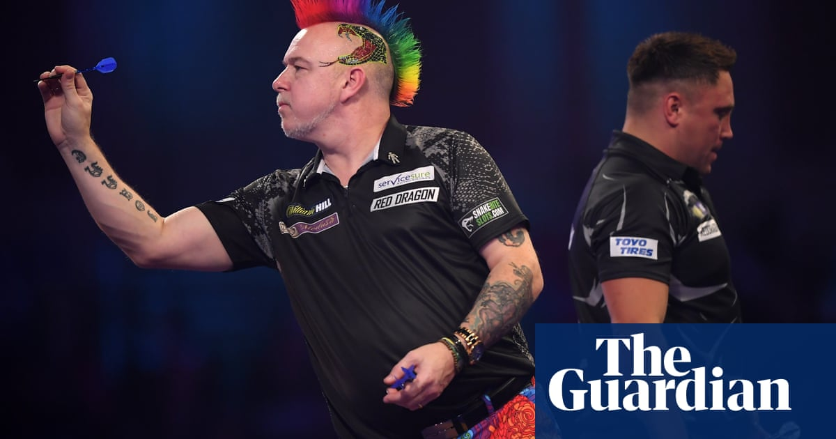 Champion Michael van Gerwen and Peter Wright to meet in final fling