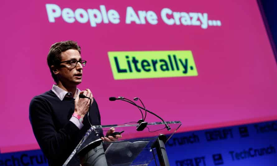 TechCrunch Disrupt NY 2013 - Day 1<br>NEW YORK, NY - APRIL 29: Jonah Peretti of Buzzfeed speaks onstage at the TechCrunch Disrupt NY 2013 at The Manhattan Center on April 29, 2013 in New York City. (Photo by Brian Ach/Getty Images for TechCrunch)