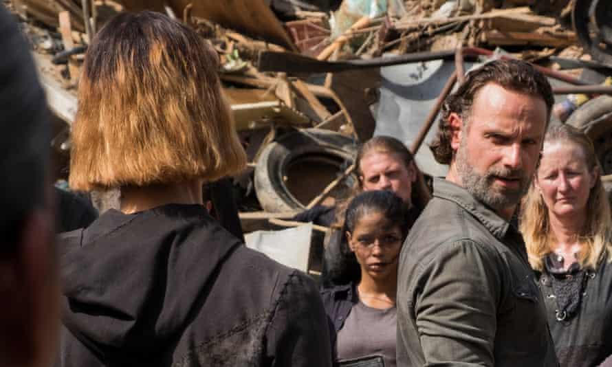 The Walking Dead Season Seven Episode 10 New Best Friends The Walking Dead The Guardian
