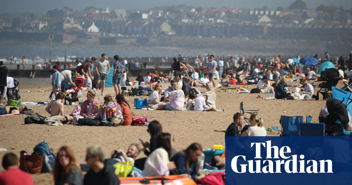 UK weather: bank holiday Monday is hottest day of 2021 so far