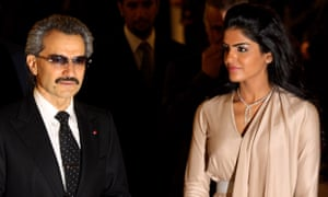 Alwaleed bin Talal and his then wife, Princess Ameera, in 2010. The Saudi prince is giving away most of his wealth.
