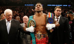 Anthony Joshua, the new British heavyweight champion, could be set for a big 2016.