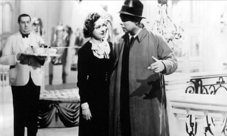 Narrative out of nothing … Nora Gregor and Jean Renoir in The Rules of the Game.