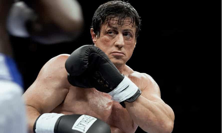 Sylvester Stallone in Rocky Balboa (2006).