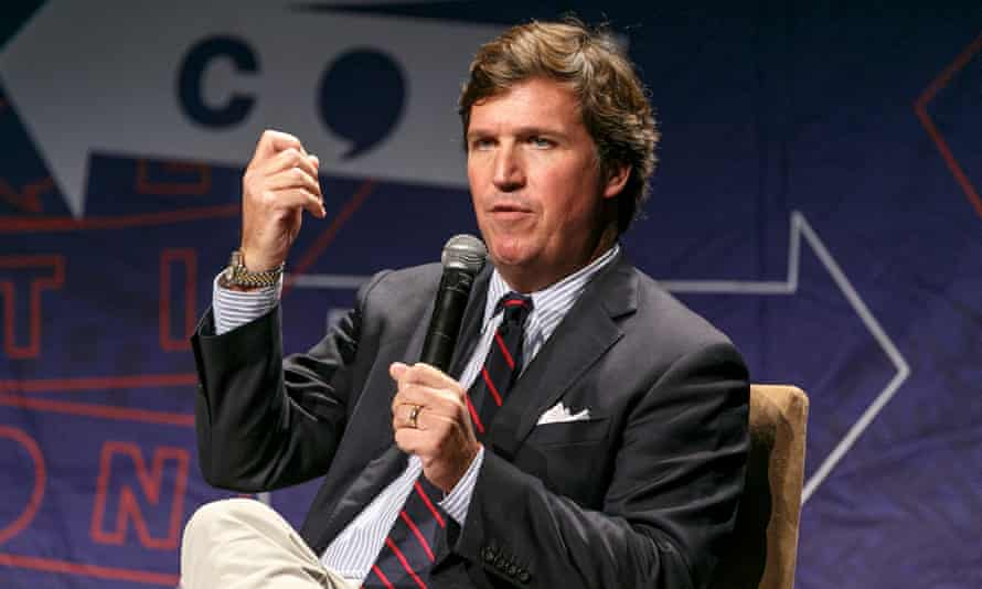 'I just can't overstate how disgusted I am,' Tucker Carlson said.