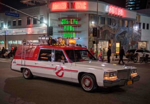 The Ghostbusters car