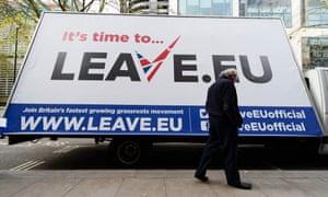A Leave.EU campaign poster in 2015.