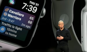 Apple CEO Tim Cook speaks at the Apple Worldwide Developer conference in San Jos, California on 4 June.