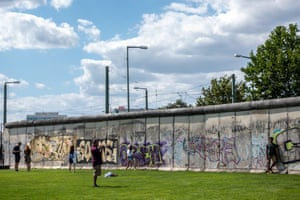 The Berlin Wall memorial draws visitors from around the world