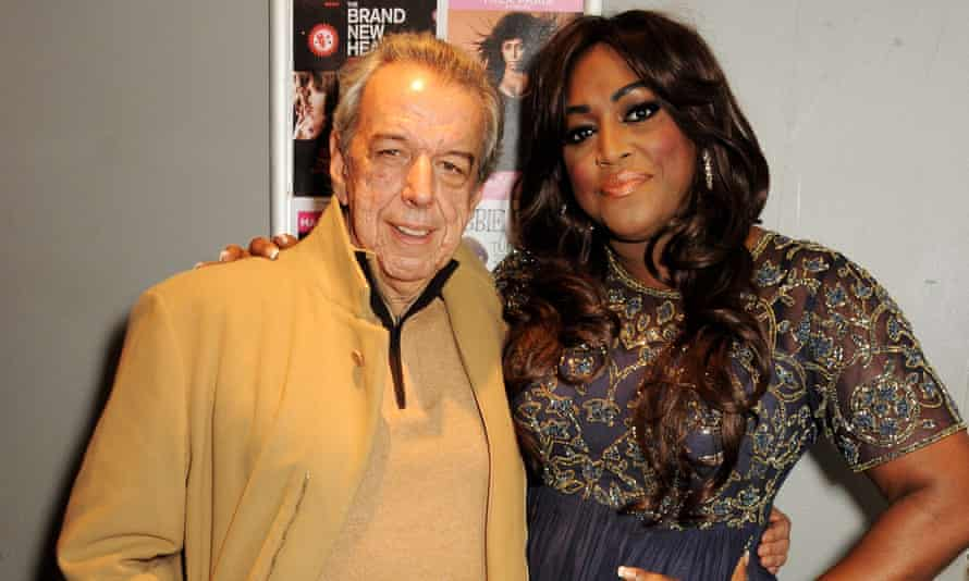 A giant of pop songwriting … Rod Temperton with Mica Paris.