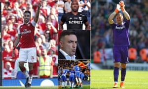 Pierre-Emerick Aubameyang, Darren Moore, Jack Butland and Carlos Carvalhal enjoyed varying levels of success over the weekend.
