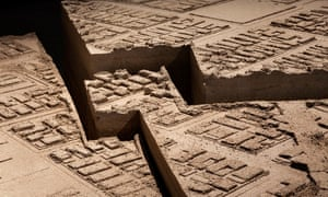 Chile – Stadium: an Event, a Building and a CityA closer look at the maps etched on the surface of the recreated stadium.
