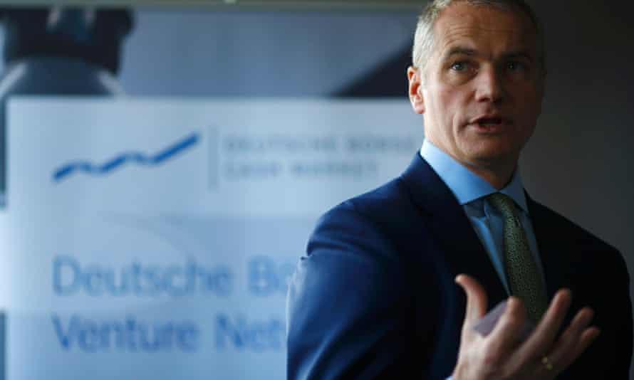 Carsten Kengeter, CEO of Deutsche Börse