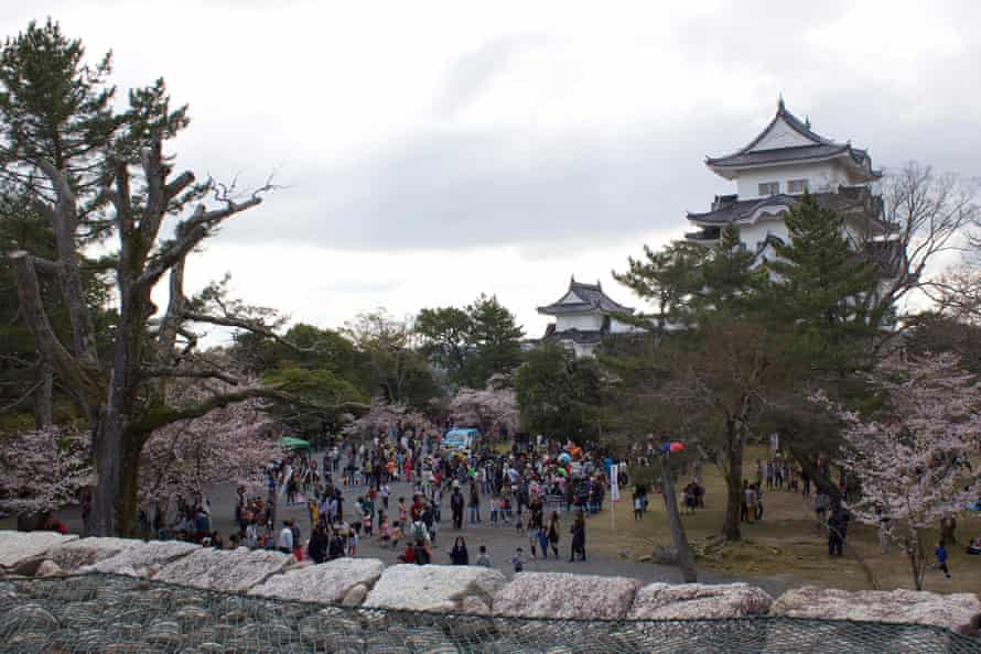 Grounds of the Iga Ueno castle in Japan where the Iga-ryu ninja museum is located.