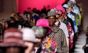 Valentino show, Paris fashion week men's