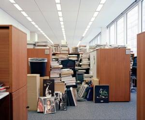 Inside the New York Times newsroom, NY 2014