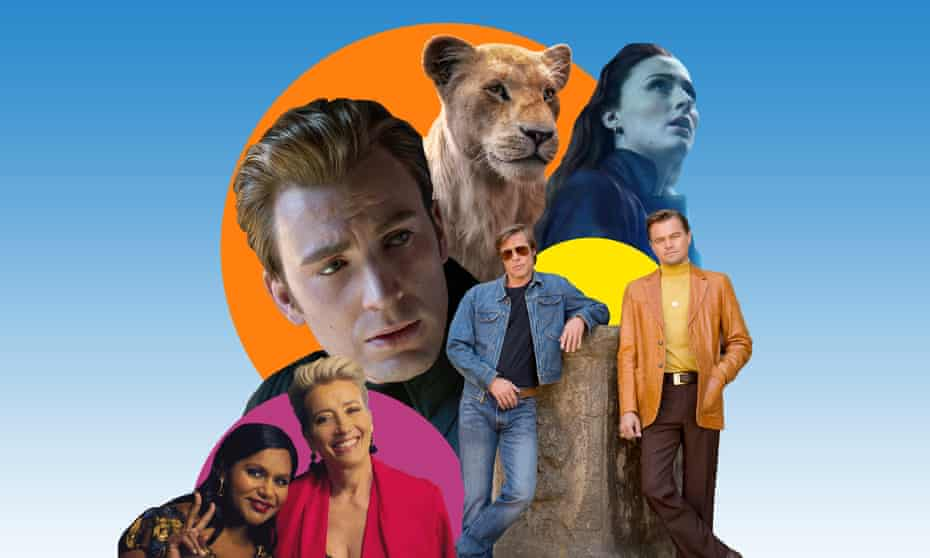 Late Night, Avengers: Endgame, The Lion King, Dark Phoenix and Once Upon a Time in Hollywood.
