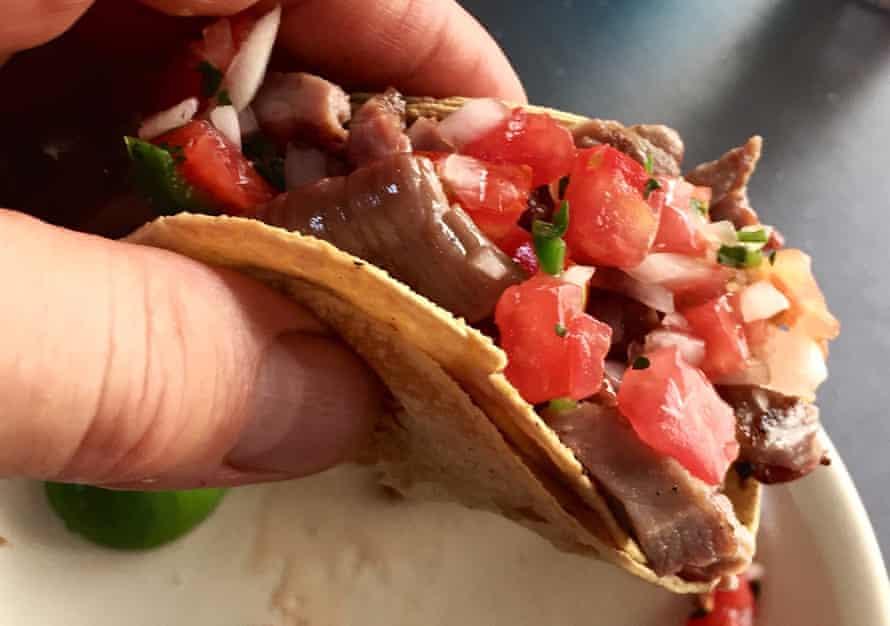 Tacos at Los Parados