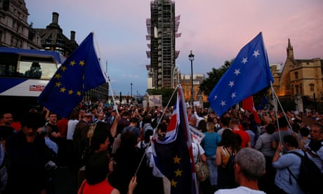 'Stop the coup': Protests across UK over Johnson's suspension of parliament