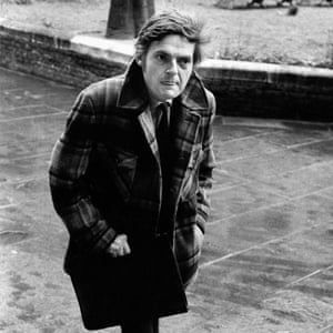 Peter Preston in his first year as editor of the Guardian, 1975.
