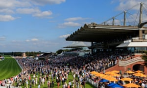 Goodwood course manager, Alex Eade, said: 'We spend so much time making Goodwood the sort of tranquil, special, beautiful place that it is, and then it gets punctured by a few idiots.'