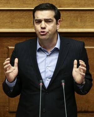 Greece's prime minister, Alexis Tsipras.