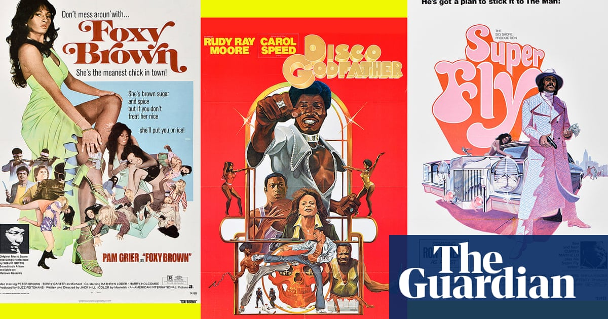 'They created a new blueprint': the legacy of Blaxploitation film posters