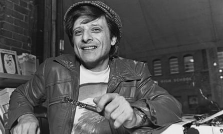 Harlan Ellison, pictured in 1977.