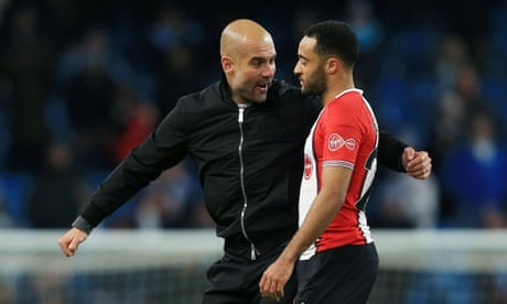 Pep Guardiola to face no further action after Nathan Redmond exchange