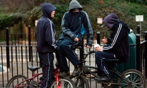 Relentless cuts to youth budgets mean youngsters are hanging around street corners, drinking and bullying others, say youth workers.