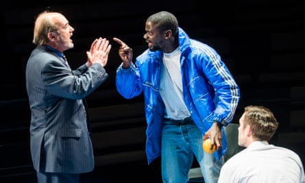 With David Haig and Luke Norris in Blue/Orange by Joe Penhall at London's Young Vic in 2016.