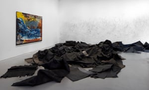 Installation shot of Violent Amnesia at Kettle's Yard